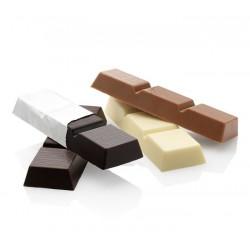 Belgische chocoladereep wit