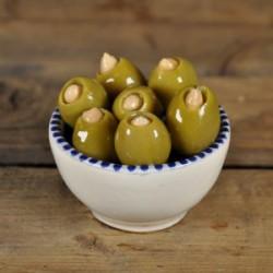Konings olijven gevuld met amandel
