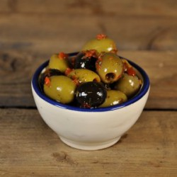 Italiaanse olijven mix