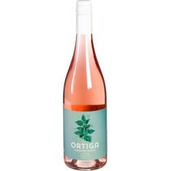 Biologische wijn rose